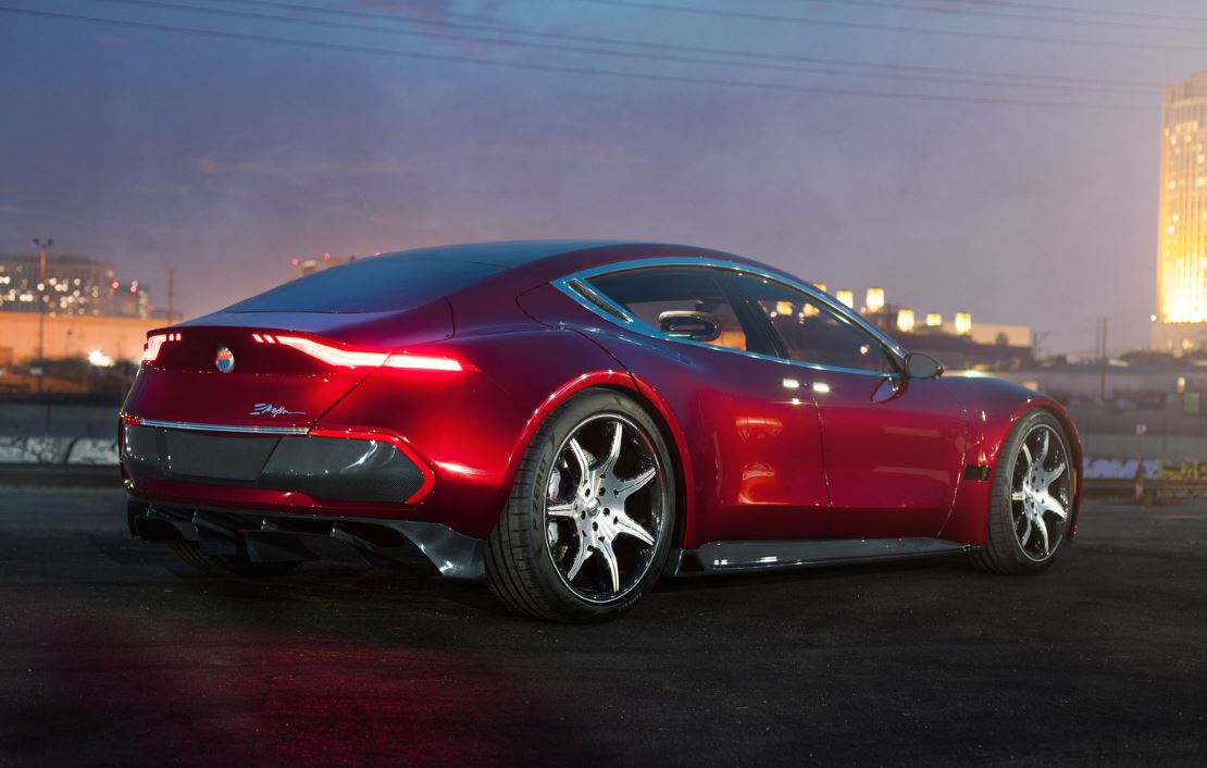 Fisker Unveils New Electric Luxury Sedan, EV Battery Technology