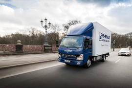 European Customers Now Running Fuso eCanter Electric Trucks