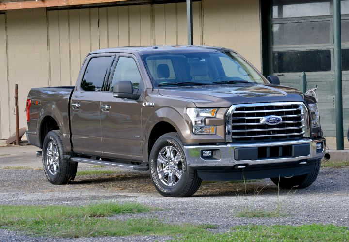 Ford Ships 2015 F-150 Trucks to Dealers