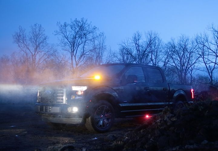 Ford Offers Strobe Warning Light for F-150