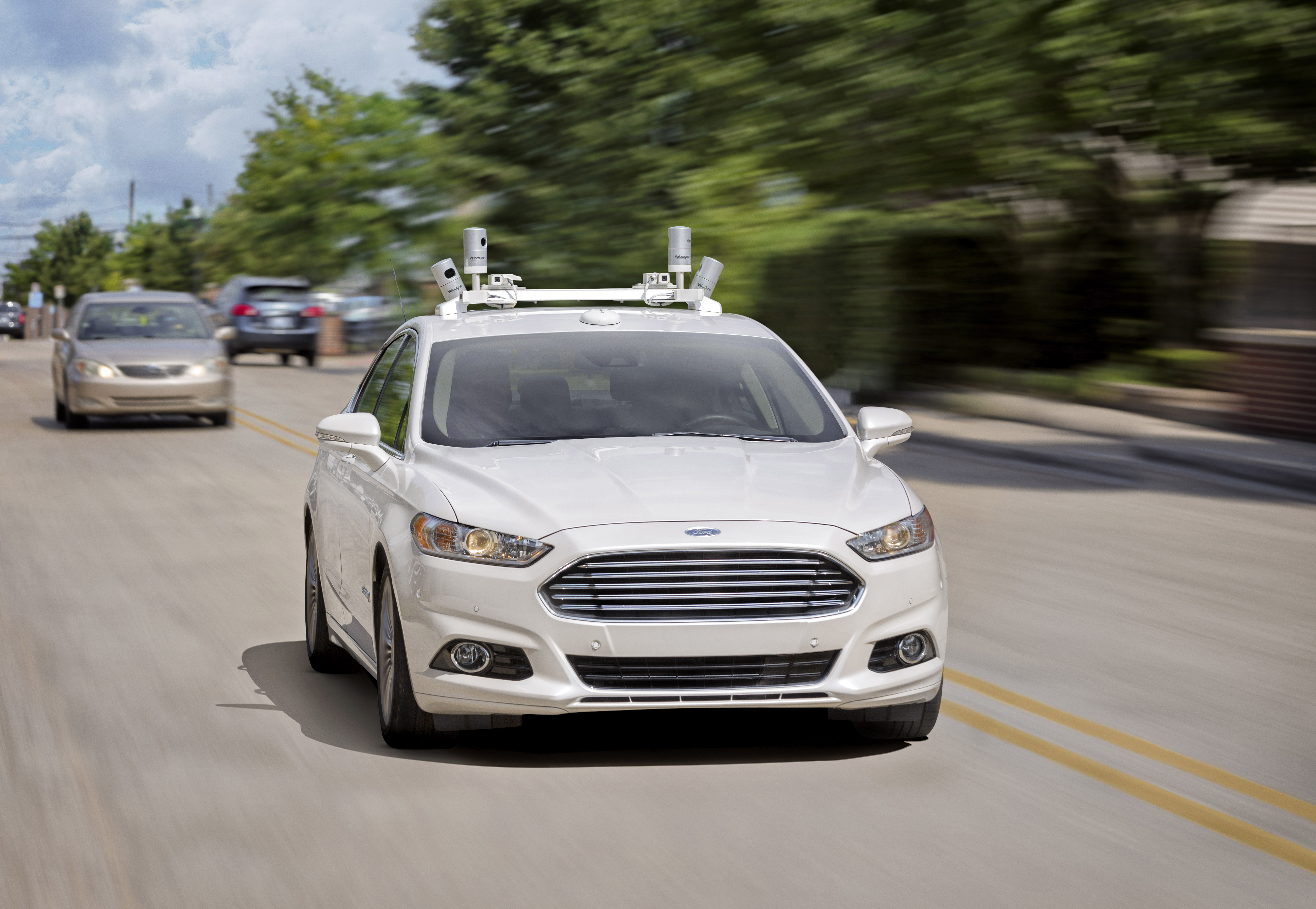 Video: Ford's Driverless Car to Arrive in 2021