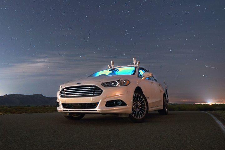 LiDAR Illuminates Autonomous Fusion Hybrid at Night