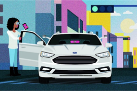 Ford Partners With Lyft to Test Self-Driving Vehicles