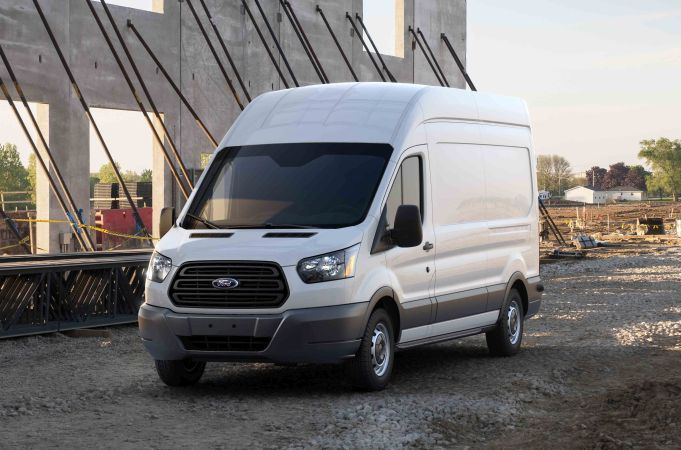 Ford Updates Transit Van for 2018