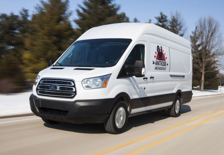 Ford Transit Featured In 'American Pickers'