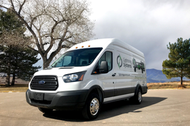 Lightning Systems Electric Ford Transit: 61 MPGe in the City