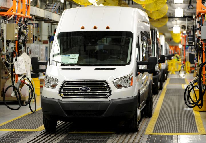 Ford Begins Transit Van Production