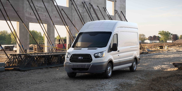 Photo of current Transit van courtesy of Ford.