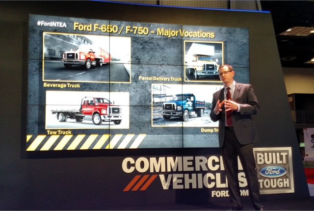 Ford Lowers Noise Levels in F-650/F-750 Trucks