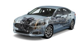 Ford Starts Production of Mondeo Hybrid in Europe