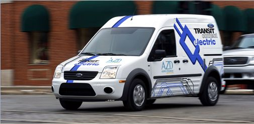 DTE Energy Takes Delivery of Ford Transit Connect Electric Vans