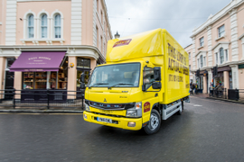 Fuso eCanter Hits Road in Great Britain Fleets