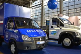 Russian Post Using GAZ CNG Vehicles