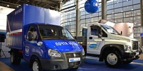 Russian Post Using GAZ CNG Vehicles