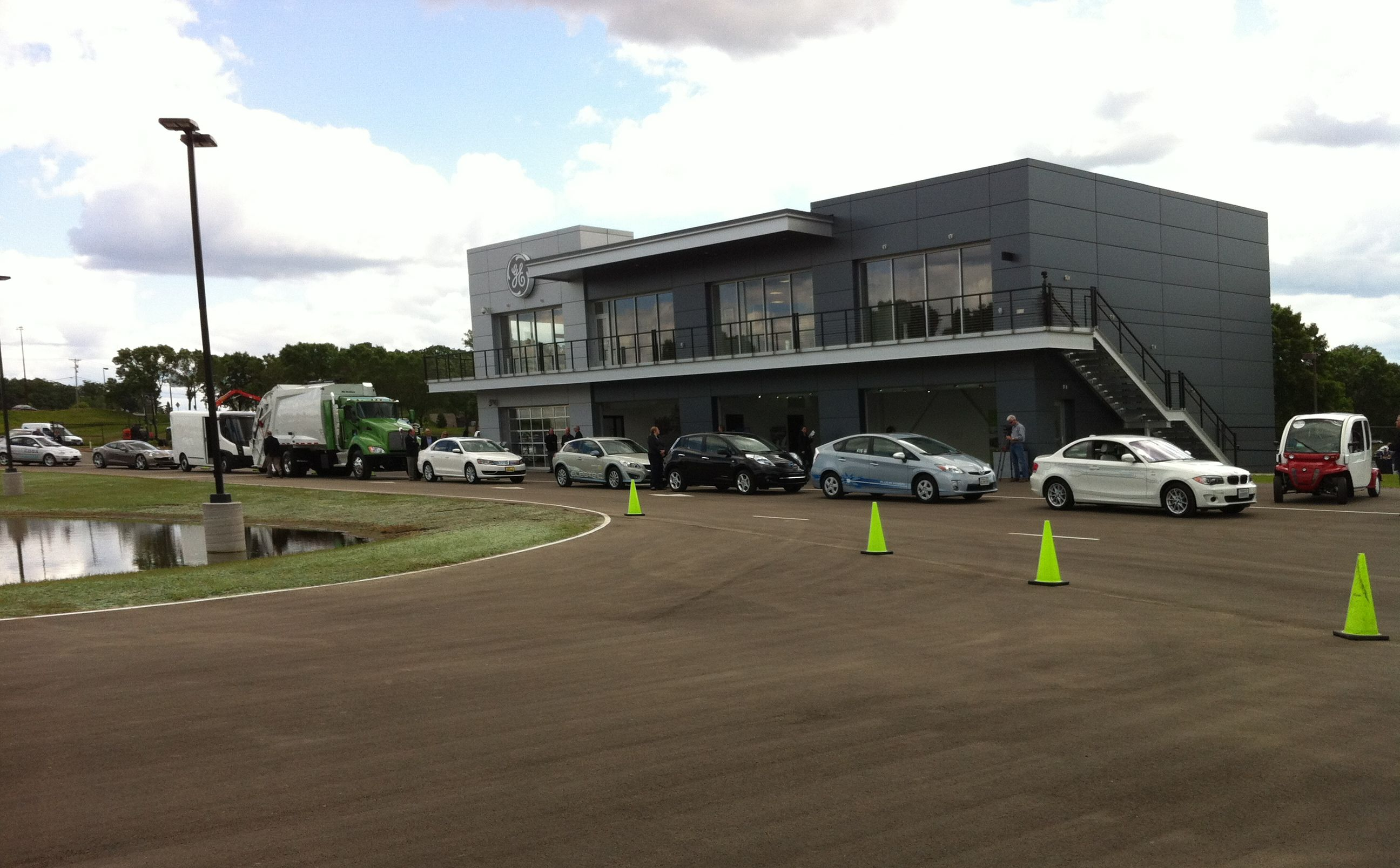 GE Opens Innovation Center for Alternative Fuel Vehicles and Solutions