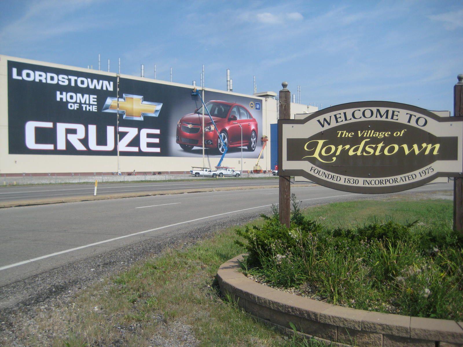 GM to Build Next-Generation Chevrolet Cruze in Ohio