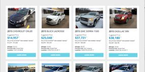 GM Activates Online Used-Car Remarketing Portal