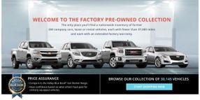 GM Adds Online Used-Vehicle Buying Program