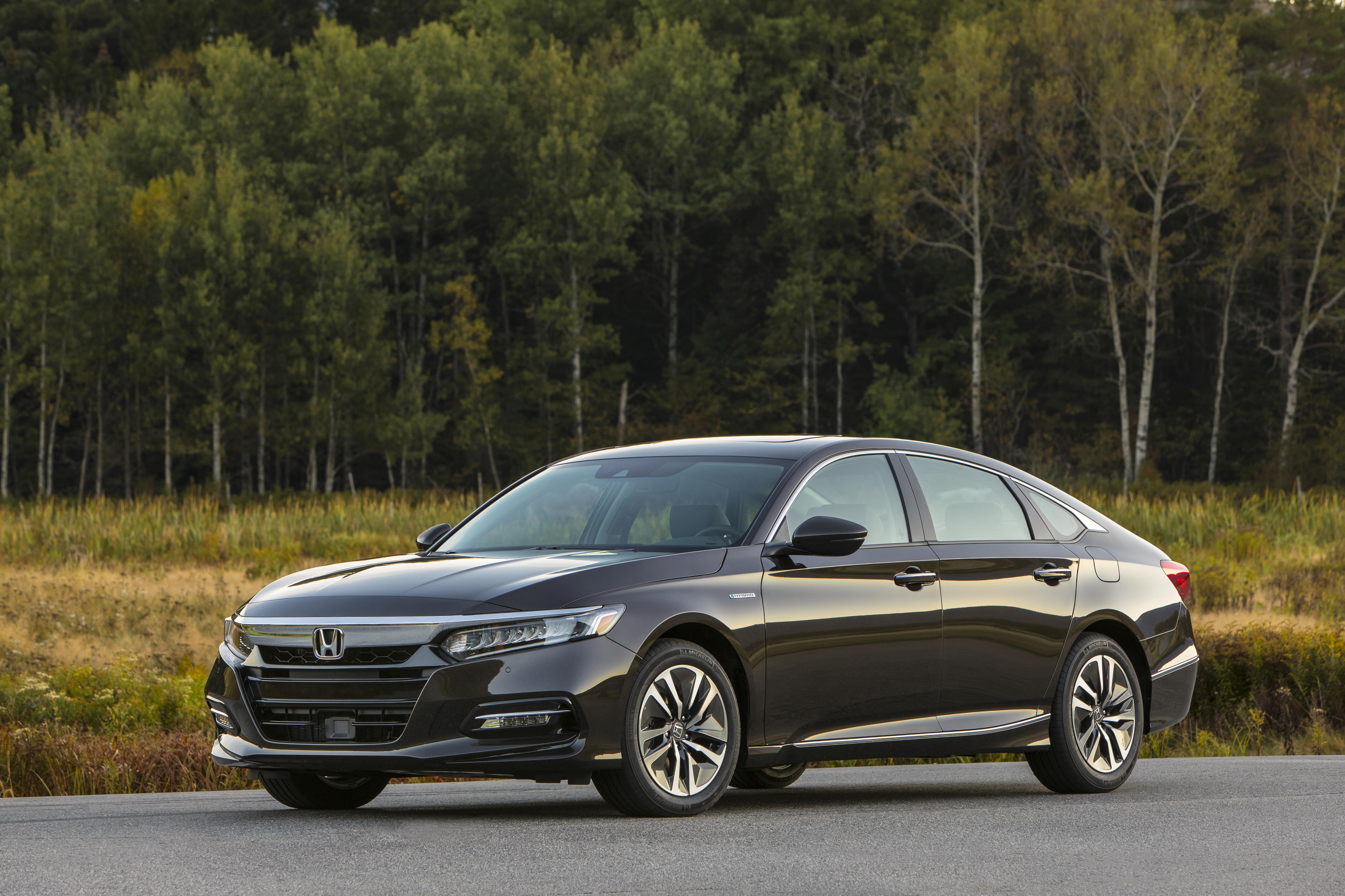 2018 Honda Accord Hybrid Starts at $25,990