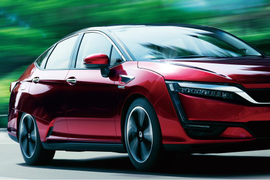 New Honda Fuel Cell Sedan to Launch in 2016
