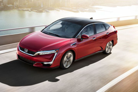 Honda's Clarity Fuel Cell Rated at 366-Mile Range