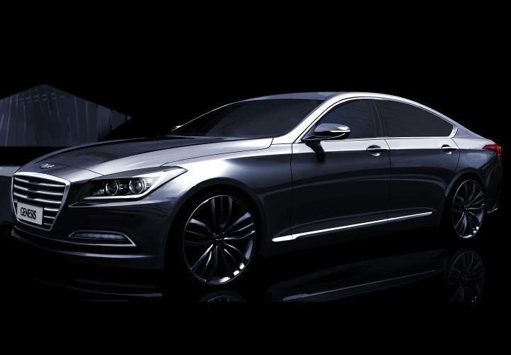Hyundai Gives 2015 Genesis Sedan Details