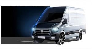Hyundai Unveils H350 Cargo Van for Europe