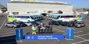 More Than 1,000 Hyundai Vehicles Makes up Brazil's World Cup Fleet