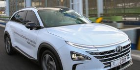 Hyundai's Next-Gen Fuel Cell Vehicle: 378 Miles