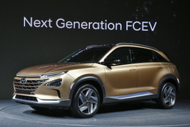 Hyundai to Launch Next-Gen Fuel Cell SUV