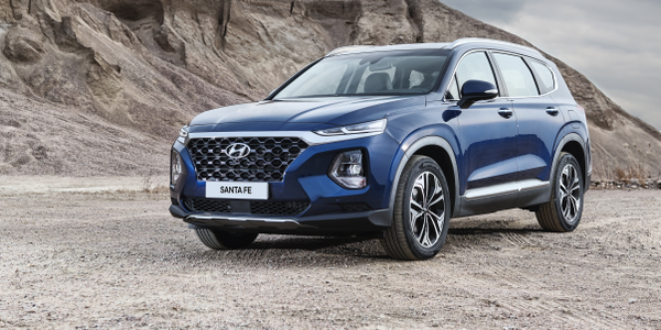 Photo of 2019 Santa Fe courtesy of Hyundai.