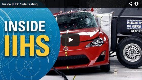 New IIHS Video Explains Side Crash Testing