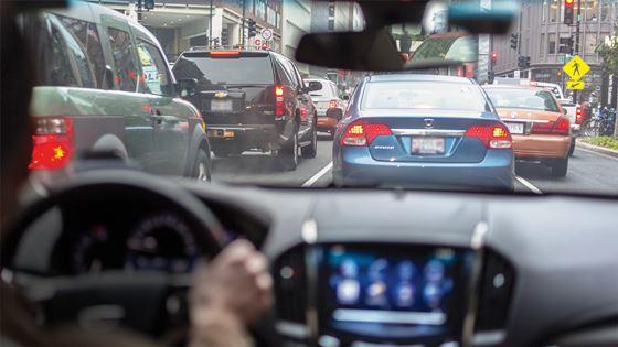 Automatic Braking Cutting Rear-End Crashes
