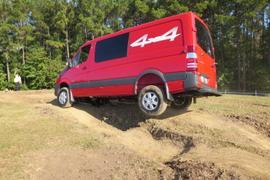 2015 Sprinter Gets Small Diesel, 'Crosswind Assist'