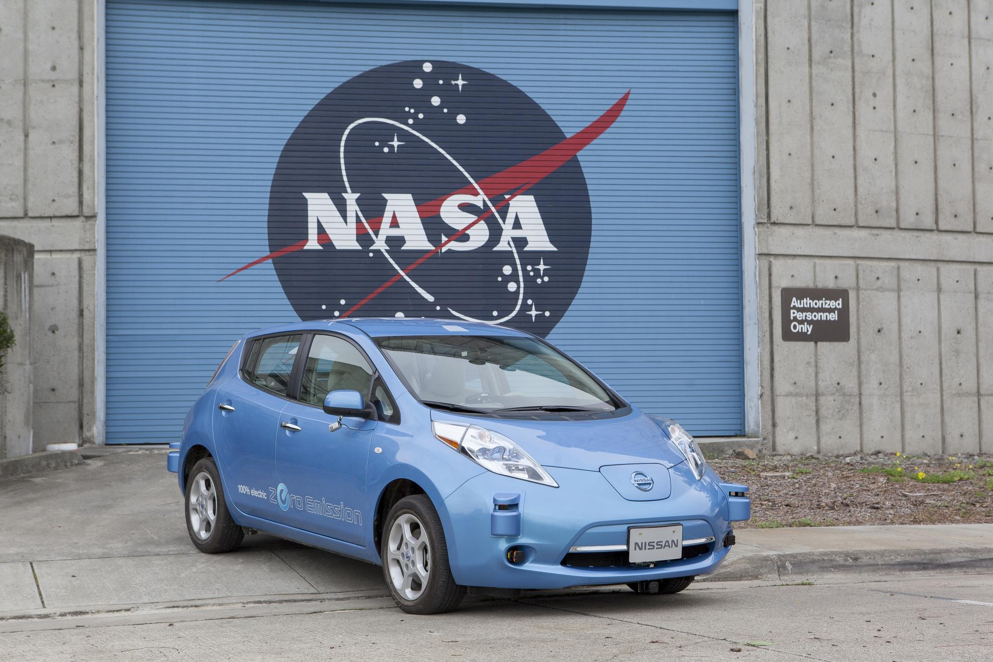 Nissan to Develop Autonomous Driving Tech with NASA