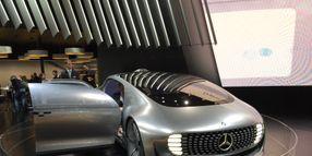 Mercedes-Benz Shows Self-Driving Fuel-Cell Sedan Concept