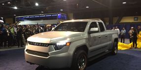 Workhorse Unveils PHEV Pickup Concept
