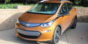 ALG Sets Bolt EV's Residual Value