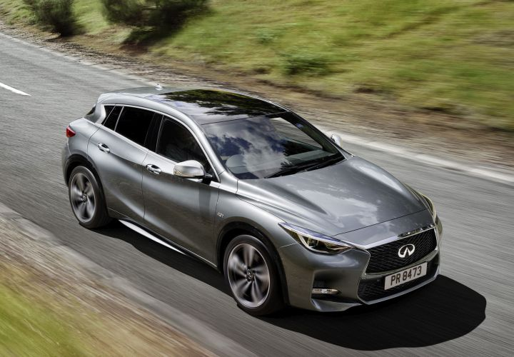 Infiniti Q30 Compact Car to Offer 208hp Engine