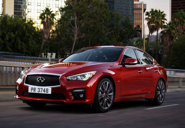 Infiniti Adds Engine Trio to 2016 Q50 Sedan
