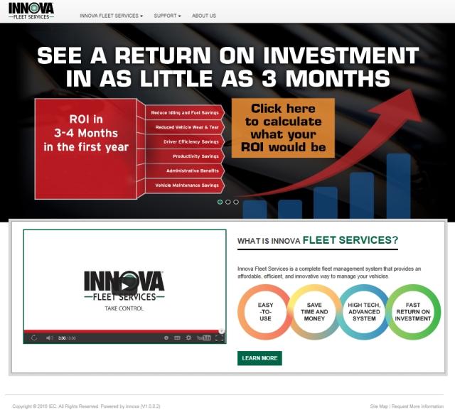 Innova Fleet Services Showcases Fleet Management System