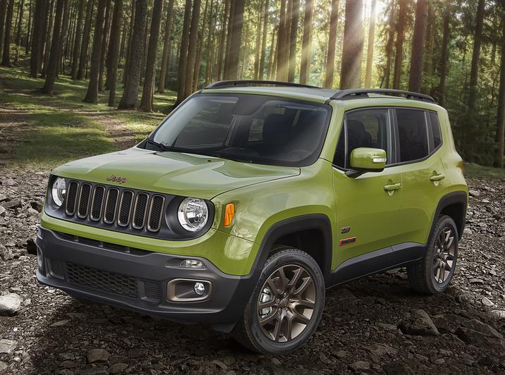 Jeep Renegades Recalled for Trailer Hitches