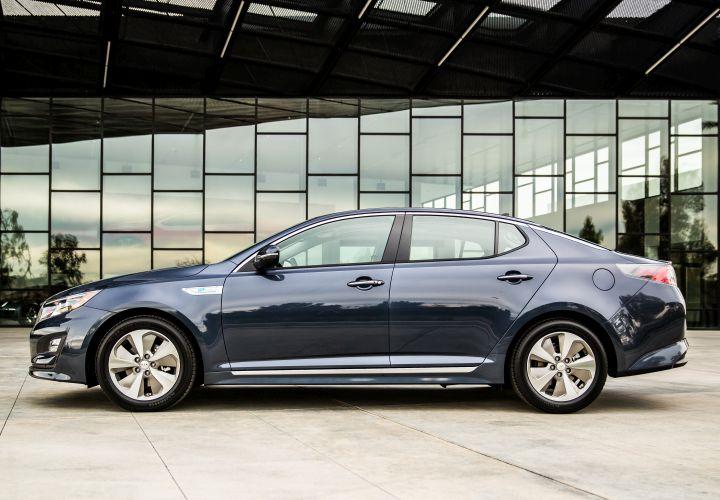 2016 Kia Optima Hybrid Gets 40 MPG Highway