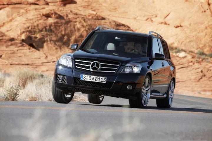 Mercedes-Benz GLK Makes Global Debut at Auto China