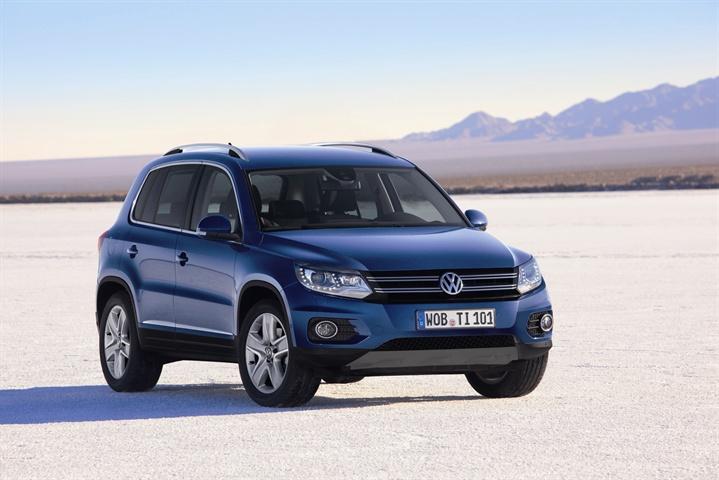 2012 Volkswagen Tiguan Offers Improved Fuel Economy