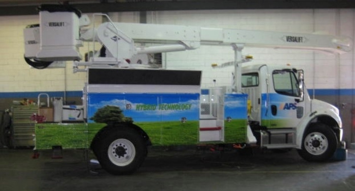 APS Plans Fleet of 250+ Hybrid Trucks by 2020