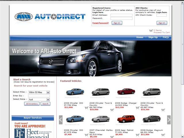 ARI Redesigns ARIAutoDirect to Streamline Vehicle Remarketing