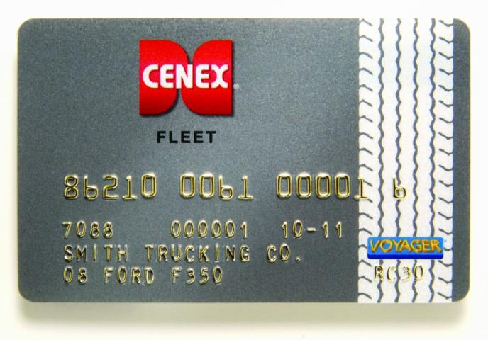 Cenex Voyager Fleet Card Introduced