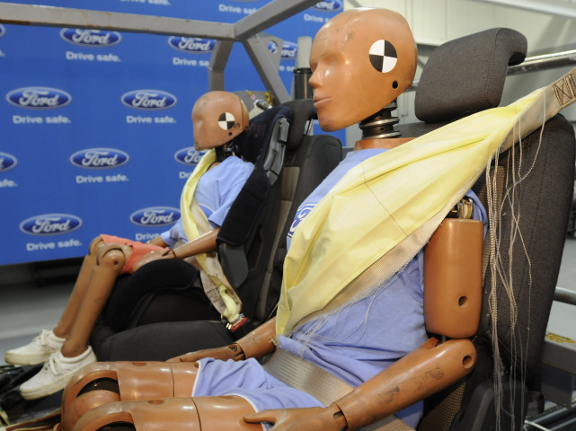 First Inflatable Seat Belts to Debut on Ford Explorer
