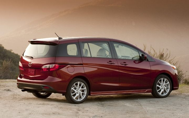 Mazda to Unveil All-New 2012 Mazda5 and Shinari Concept